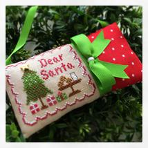 Dear Santa #2 Classic Ornament Series cross stitch Country Cottage Needleworks - $5.40