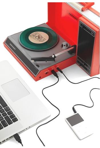 RECORD PLAYER CROSLEY TURNTABLE 3 SPEED USB BLUE ELVIS PRESLEY