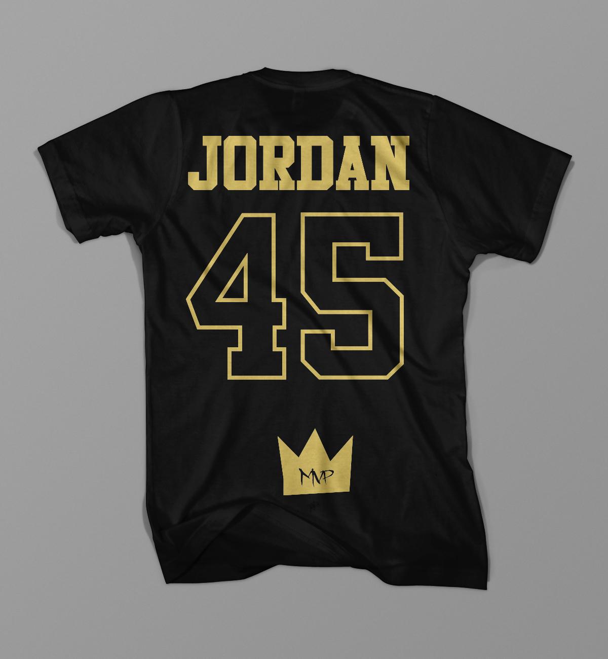 Jordan 45 MVP T Shirt