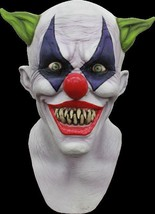 Adult Latex Giggles the Creepy Clown Deluxe Halloween MONSTER MASK - £52.67 GBP