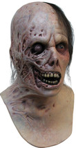 DELUXE ADULT LATEX BURNT HORROR HALLOWEEN MASK - £48.85 GBP