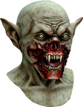 Blood Thirsty Vampire Mask Demon Monster Mask  Halloween Costume Prop - £45.14 GBP