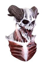 Scary Halloween Mask Devil Demon Horned Skull - $59.39
