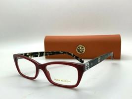Tory Burch TY 2049 1361 BURGUNDY 51-17-135MM Eyeglasses Frame CASE/CLOTH - $77.57