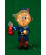 """Rudolph Misfit Elf """"HERMEY"""" Lighted 3D Tinsel Character Christmas In/Out... - $124.88"""