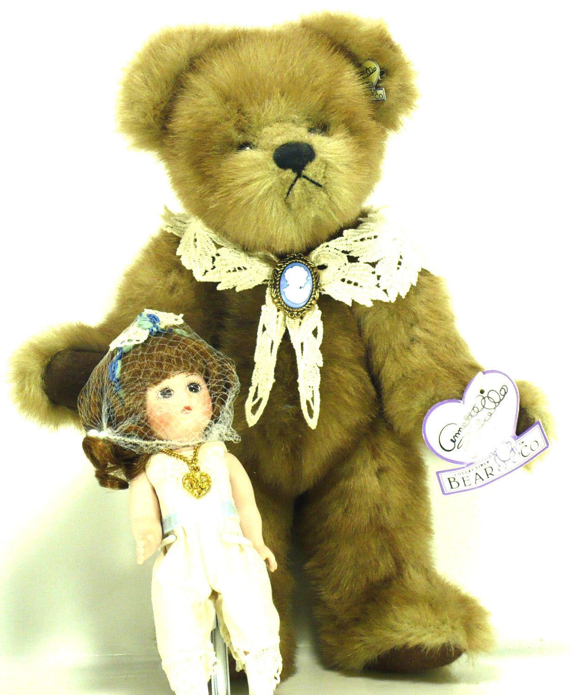 "Annette Funicello ""Cameo & Luree"" #C37359- 10"" Bear & 7 Doll-LE-Artist Designed - $49.99"