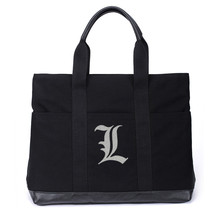 Death Note Black Canvas Zip Top Tote BAG - $49.99