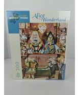 Pomegranate Art Piece Alice in Wonderland Puzzle 300 Piece Sir John Tenniel - $34.64