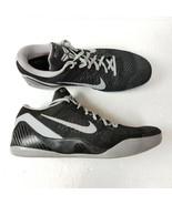 Nike Kobe IX 9 Basketball Shoes Mens 16 Black Gray Low Top Sneakers Mamb... - $163.58