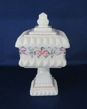 Westmoreland, Candy Box, wedding Bowl, Roses & Bows, Line #1874, WB-2 - $26.00