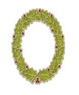 Joy Old Time Wreath Leaf-Digital Download-ClipA... - $4.00