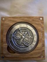 Zodiac Horoscope Libra The Scales 1 oz Silver Capsuled Antiqued UHR Roun... - $69.29
