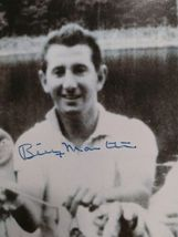 Vtg Autograph Signed Black White Photo Mickey Mantle, Billy Martin, Whitey Ford image 4