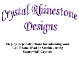 Swarovski Manual for embellishing your cell pho... - $9.99