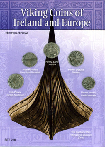 (DM 218) Viking Coins of Ireland and Europe *
