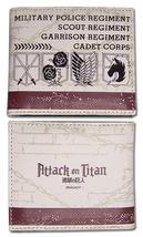 Attack on Titan Regiment Emblems Bi-Fold Wallet GE61884 *NEW* - $19.99