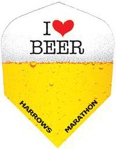 Marathon 100 Micron Standard Slim Flights - Harrows I Love Beer - $2.75