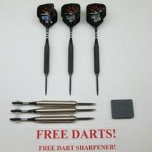 365E - Extra Darts & Stone - Bottelsen Hammer Head Moveable Point Black Steal... - $102.40