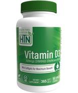 Vitamin D3 2000 IU (50 mcg), 365 Mini Softgels, Soy Free, Non-GMO, Glute... - $16.95