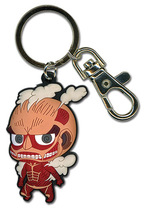 Attack on Titan SD Colossal Titan PVC Key Chain GE36799 *NEW* - $11.99