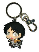 Attack on Titan SD Eren PVC Key Chain GE36798 *NEW* - $9.99