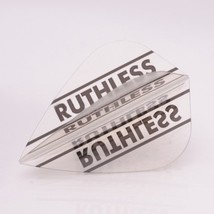 3 X Sets Ruthless Darts Flights Clear Panels Clear Kite - $5.95