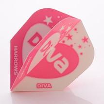 Harrows Darts Flights Diva Standard Heart - $3.18