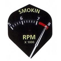 M093 - Smokin Rpm - 1 Set of 3 Poly Super Metronic Standard Wide Shaped Dart ... - $2.95