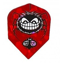 5 Sets of 3 Dart Flights - 6476 - Hungry Spider Quazar Holographic Double Thi... - $7.50