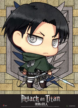 Attack on Titan SD Levi Fabric Poster (Wall Art) GE79083 *NEW* - $23.99
