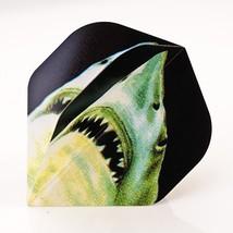 5 X Sets Shark Jaws Standard Shaped Poly Metronic Darts Flights - $7.95