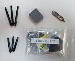 Assorted Steel Tip Darts Accessory Kit Halex - $9.95