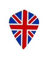 5 Sets of 3 Dart Flights - Mk9 - Union Jack British Flag Kite Shape Poly... - $7.50