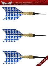 Brand New 3pcs Alloy Barrel Grip Soft Tip with Dart Flights Shaft 4 Gram, Mod... - $7.65