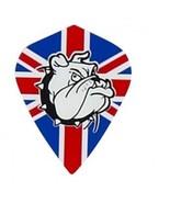 5 Sets of 3 Dart Flights - Mk16 - Union Jack British Flag Kite Shape Pol... - $7.50