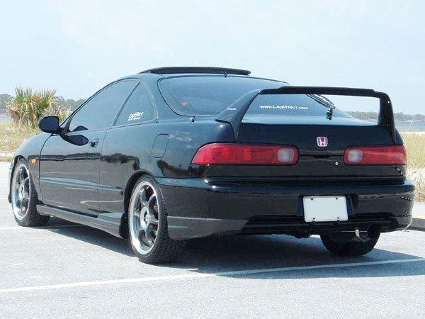 Body Kit Rear Bumper Valance Lip Fits JDM Acura Integra 98-01 1998-2001 Type R