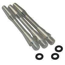 Cuesoul 2 Set 2ba Medium Purple Aluminum Dart Shafts with O'rings(DS-007) - $5.95