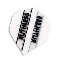 F7050 White Stripe Ruthless Xtra Strong Dart Flights - 4 sets standard flight... - $5.14
