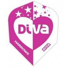 Harrows - 30-2823 - Diva Heart Pink - 1 Set of 3 Double Thick Standard Wide S... - $2.95