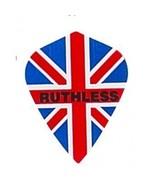 5 Sets of 3 Dart Flights - 1799 - Ruthless Union Jack British Flag Doubl... - $7.50