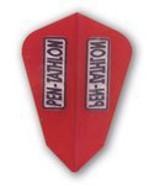 30-2031 Pentathlon Dart Flights - Fantail/Red - $2.95