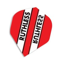 F7052 Red Stripe Ruthless Xtra Strong Dart Flights - 4 sets standard flights ... - $5.14