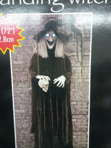 Animated Life Size 6ft Standing Halloween Witch Prop Decoration - €102,30 EUR