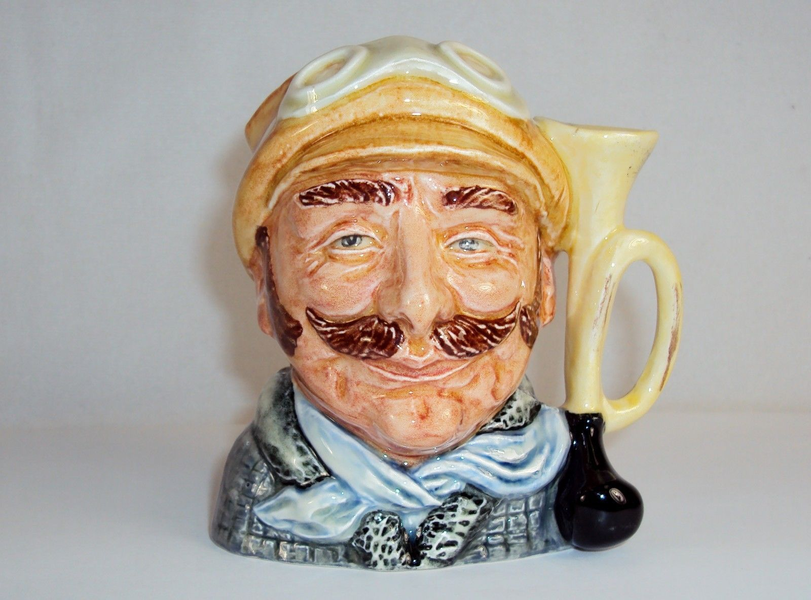 "Toby Character Jug (Small) ~ ""Veteran Motorist"" ~ Royal Doulton D6637, #9120350 - $29.35"