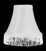 "Urbanest White with White Silk Bell Chandelier Lamp Shade, 3x6x5"" - $9.89+"