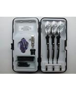 Tungsten Coated Gunmetal Spiroline Adjustable Weight 2Ba Dart System - 1... - $19.95