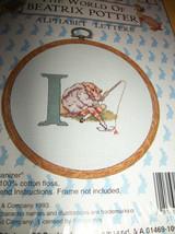 Peter Rabbit Craft Kit Frog Beatrix Potter Cross Stitch New Alphabet Letter I - $9.49