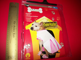 Rubies Pet Costume Small Cheerleader Outfit Dog Pink White Cheer Dress P... - $9.49