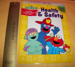 Sesame Street Baby Craft Kit Health Safety Book Crayon Coloring Activity... - $18.99