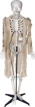 Talking Skeleton Halloween Prop Animated Skull Sounds Haunted House Deco... - $95.90